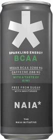 Bild på Naia Sparkling Energy BCAA Kiwi 33 cl inkl. pant