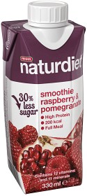 Bild på Naturdiet Smoothie Raspberry & Pomgranate 330 ml
