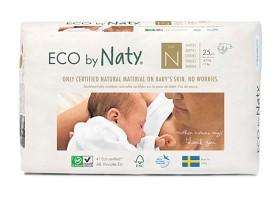 Bild på Naty Blöja stl N nyfödd 25 st
