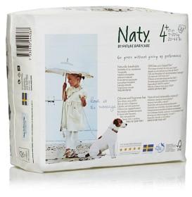 Bild på Naty Blöjor stl 4+ Maxi 25 st