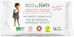 Bild på Naty Sensitive Wipes Unscented 56 st