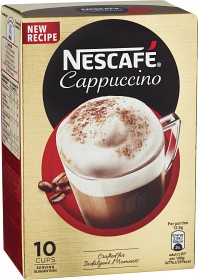 Bild på Nescafé Snabbkaffe Cappuccino 10 p