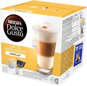 Bild på Nescafé Dolce Gusto Vanilla Latte Macchiato Kaffekapsel 8 p
