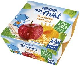 Bild på Nestlé Min Frukt Fruktsallad 6M 4x 100 g