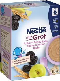 Bild på Nestlé Min Gröt Fullkorn Katrinplommon Äpple 6M 480 g
