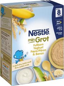 Bild på Nestlé Min Gröt Fullkorn Yoghurt Päron & Banan 8M 480 g