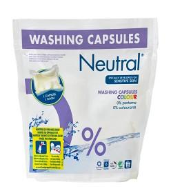 Bild på Neutral tvättkapslar Colour 22 st