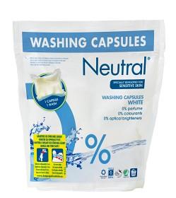 Bild på Neutral tvättkapslar White 22 st