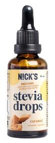 Bild på Nicks Stevia Drops Caramel 50 ml