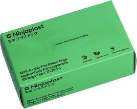 Bild på Ninjaplast Fryspåsar Fossilfria 1 L 100 p