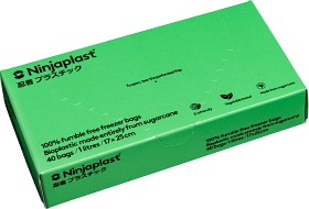 Bild på Ninjaplast Fryspåsar Fossilfria 1 L 40 p