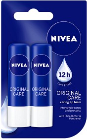Bild på Nivea Lip Balm Original Care 2-pack