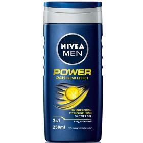 Bild på Nivea Men Power Fresh Shower Gel 250 ml