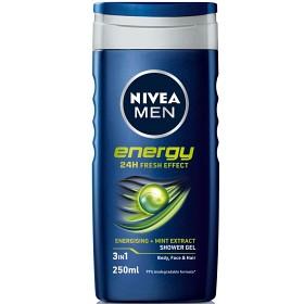 Bild på Nivea Men Energy Shower Gel 250 ml