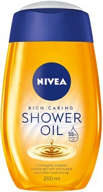 Bild på Nivea Natural Oil Shower Oil 200 ml