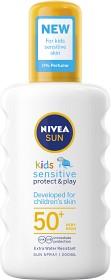 Bild på Nivea Sun Kids Protect & Sensitive Spray SPF 50