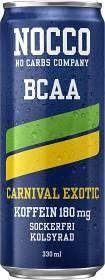 Bild på NOCCO BCAA Carnival Exotic 33 cl inkl. Pant