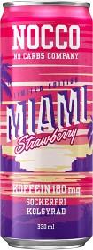 Bild på NOCCO BCAA Miami Strawberry 33 cl inkl. Pant