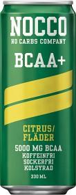 Bild på NOCCO BCAA+ Citrus/Fläder 33 cl inkl. Pant