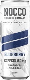 Bild på NOCCO Winter Edition Blueberry 33 cl inkl. Pant