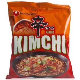 Bild på Nongshim Ramennudlar Kimchi 120 g