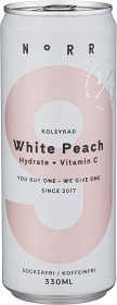 Bild på NoRR 9 White Peach 33 cl ink. Pant