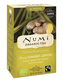 Bild på Numi Organic Tea Decaf Ginger Lemon 16 st