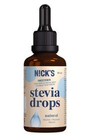 Bild på Nicks Stevia Drops Natural 50 ml