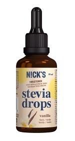 Bild på Nicks Stevia Drops Vanilla 50 ml