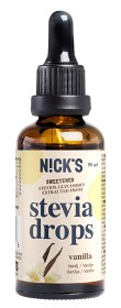 Bild på Nicks Stevia Drops Vanilla 50 ml
