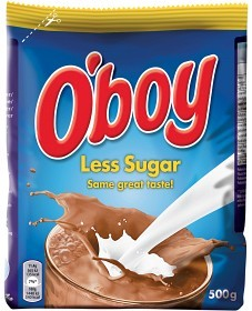 Bild på O'boy Less Sugar 500 g