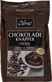 Bild på Odense Chokladknappar Mörk 150 g