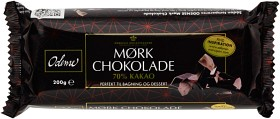 Bild på Odense Mörk Choklad 70% 200 g
