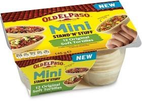 Bild på Old El Paso Stand'n Stuff Soft Mini Tortillas 145 g