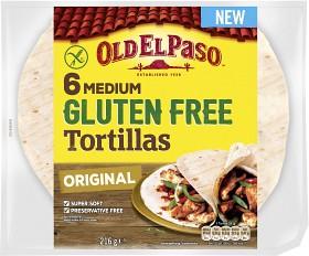 Bild på Old El Paso Tortilla Glutenfri 216 g