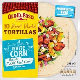 Bild på Old El Paso Tortilla Mexicana Majs Small 10st 208g