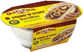 Bild på Old El Paso Stand'n Stuff Soft Tortillas 193g