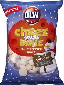 Bild på OLW Cheez Snowballz 160 g