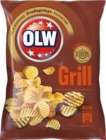Bild på OLW Grillchips 40 g
