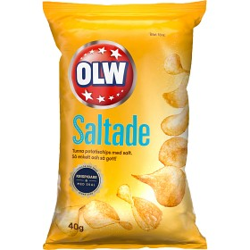 Bild på OLW Chips Saltade 40g