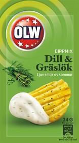 Bild på OLW Dippmix Dill & Gräslök 24 g