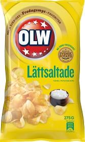 Bild på OLW Lättsaltade Chips 275 g