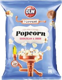 Bild på OLW Popcorn Sourcream & Onion 80 g