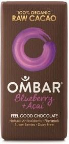 Bild på Ombar Blueberry & Acai 35 g