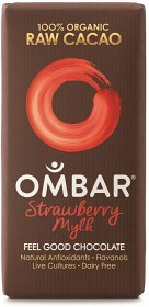 Bild på Ombar Strawberry Mylk 35 g