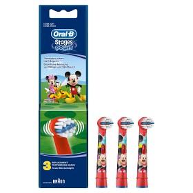 Bild på Oral-B Kids borsthuvud 3 st