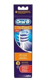 Bild på Oral-B TriZone borsthuvud 3 st