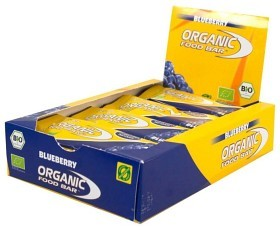 Bild på Organic Food Bar Blueberry 70 g 12 st