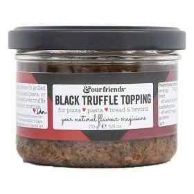 Bild på &our friends Black Truffle Topping 170g