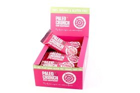 Bild på Paleo Crunch Raw Raspberry 12 st